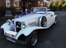 White Beauford for weddings in Rochester